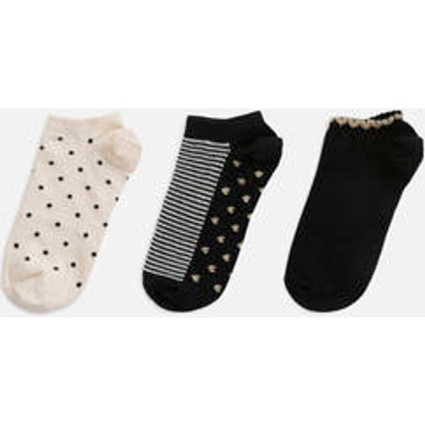 Oysho - 3 paires de socquettes curs - 1