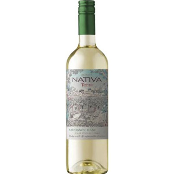 Nativa - Organic Sauvignon Blanc 2015 75cl Bottle