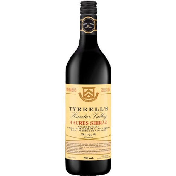 Tyrrells - 4 Acres Shiraz 2011 75cl Bottle