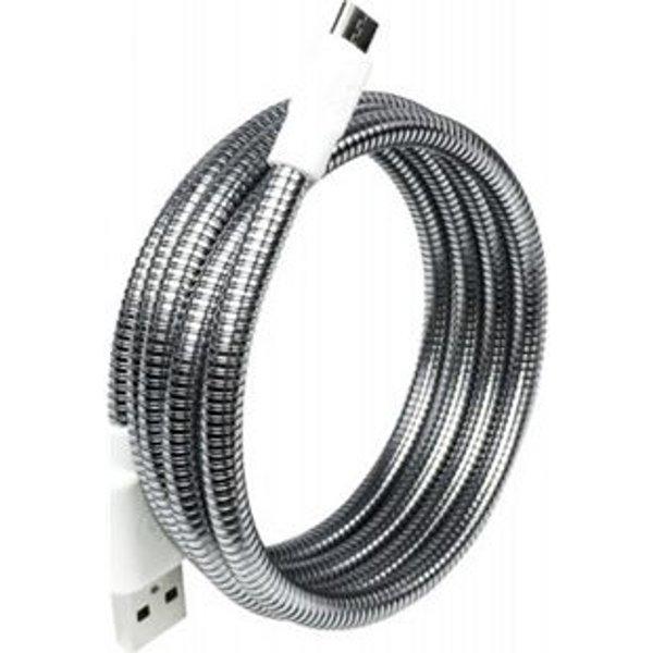 Câble Micro USB Fuse Chicken Titan M Android 1 m Argent