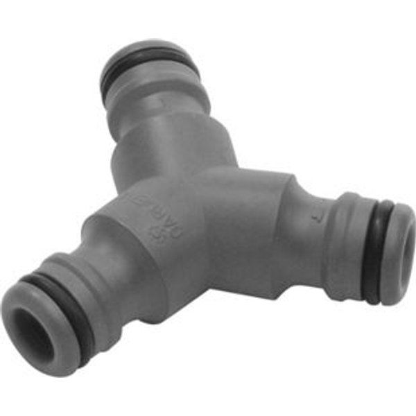 "Gardena ORIGINAL 3 Way Hose Pipe Y Adaptor 1/2"" / 12.5mm Pack of 1"
