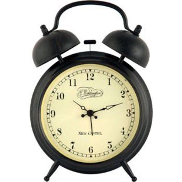 NexTime Horloge de table Aaltje Marron 9cm Diam