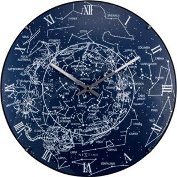 Nextime horloge murale - milky way dome - plastique ø 35 cm