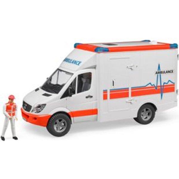 02536 mercedes benz sprinter 1:16 - ambulance avec soignant