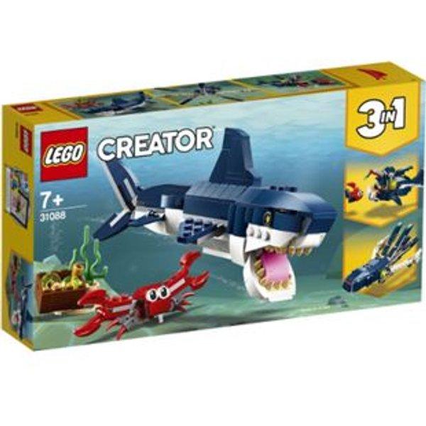 31088 Creator Bewohner der Tiefsee, Konstruktionsspielzeug