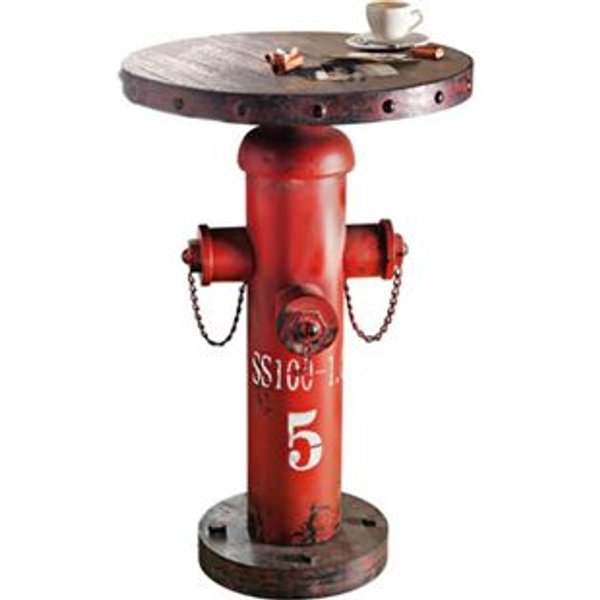 """Beistelltisch """"Fireplug"""", rotbraun"""