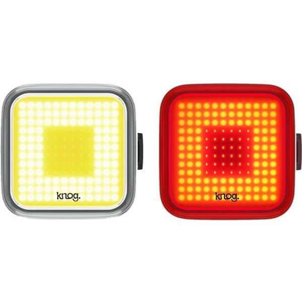 Knog Blinder Square Light Twinpack