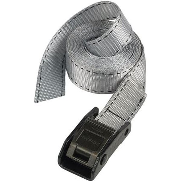 Master Lock Lashing Strap with Metal Buckle, Coloured 2.5m 150kg (Pack 2)