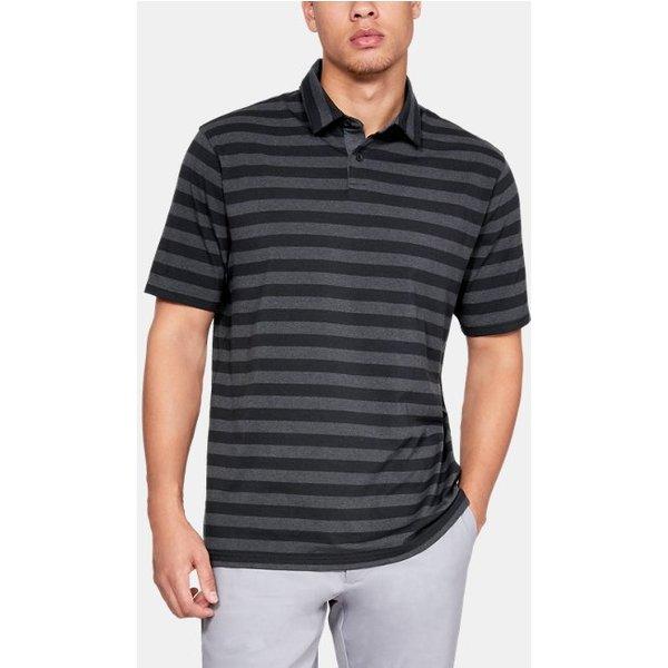 Under Armour - Polo Charged Cotton® Scramble con rayas para hombre - 1