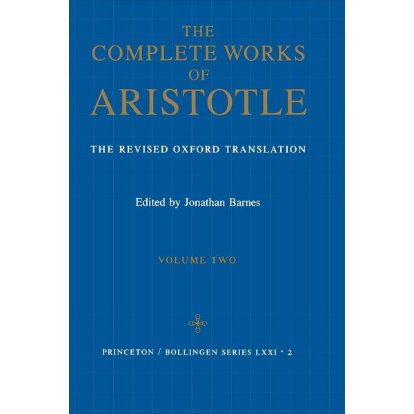 Complete Works of Aristotle, Volume 2