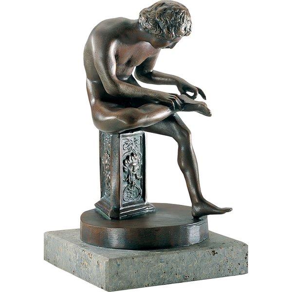Skulptur 'Dornauszieher'