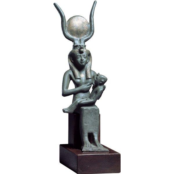 Skulptur 'Isis und Harpokrates'