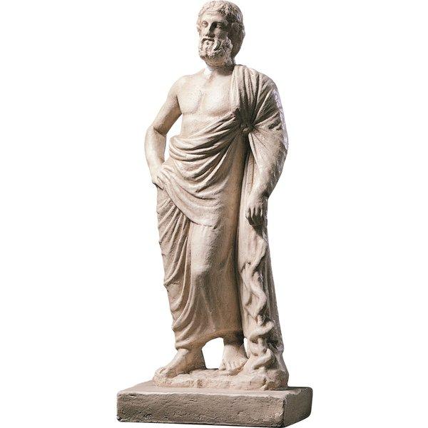 Skulptur 'Der Götterarzt Asklepios (Äskulap)'
