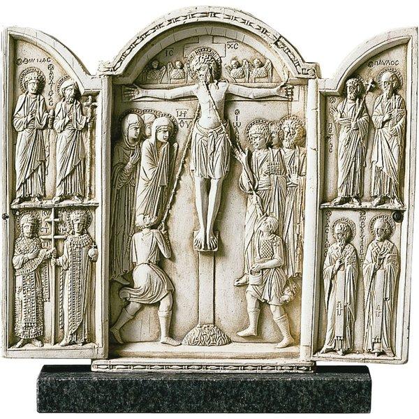 Triptychon Kreuzigung Christi, Skulptur