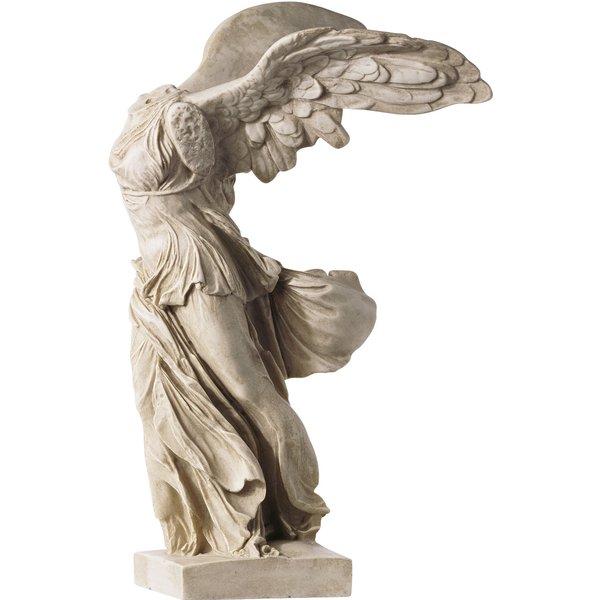 Skulptur 'Nike von Samothrake' (33 cm), Kunstguss