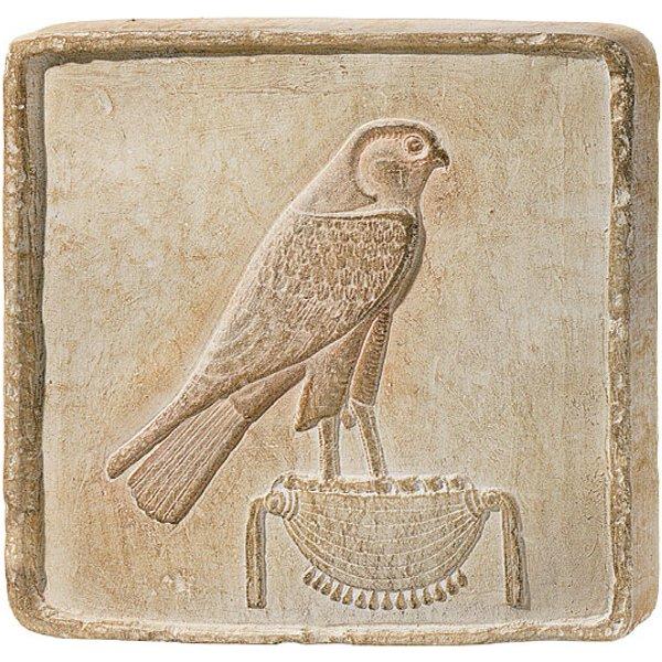 Sandstein-Relief 'Gold-Horus'