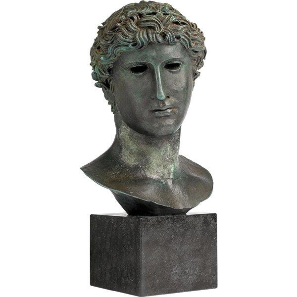 Kopf eines Olympiasiegers