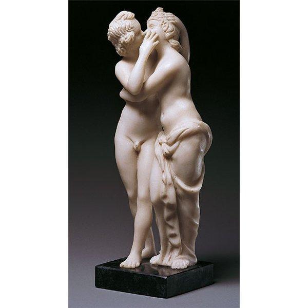 Skulptur 'Amor und Psyche' (Reduktion), Kunstguss