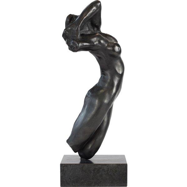 Auguste Rodin: Skulptur 'Torso der Adele' (Originalgröße), Version in Bronze