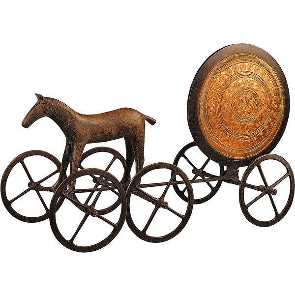 Der Sonnenwagen von Trundholm, Originalgröße