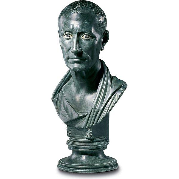 Büste 'Gaius Julius Cäsar', Kunstguss