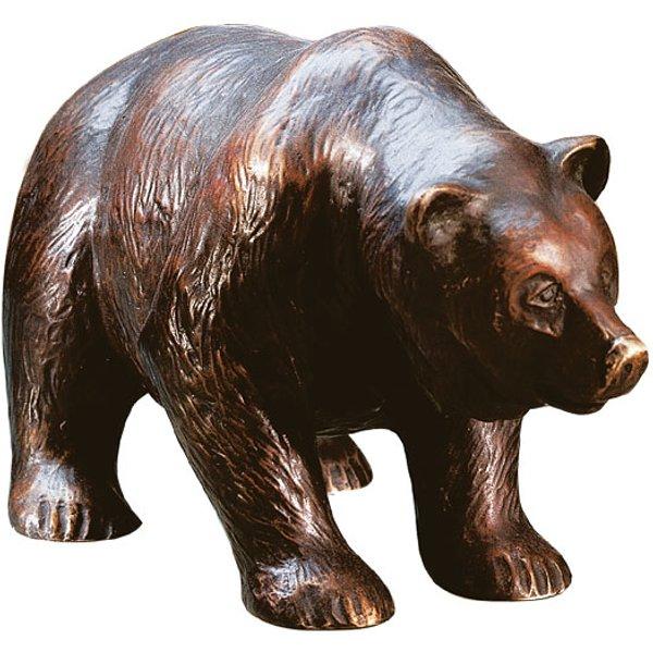 Roman: Skulptur 'Bär', Version in Kunstbronze