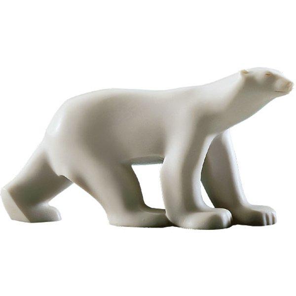 François Pompon: Skulptur 'Kleiner Polarbär', Kunstmarmor