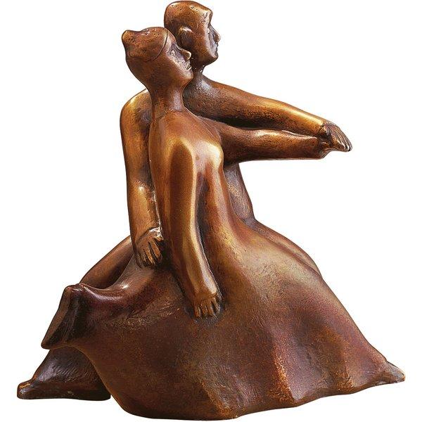 Günter Grass: Tanzendes Paar 'Schneller Schritt', 2002, Skulptur