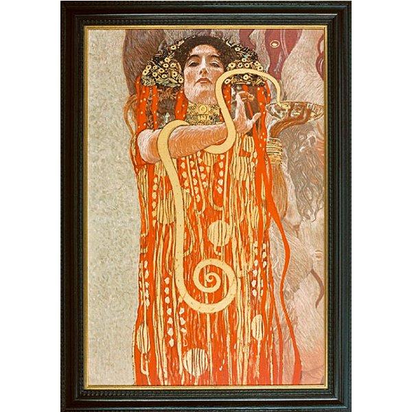 Gustav Klimt: Bild 'Hygieia' (1845), gerahmt