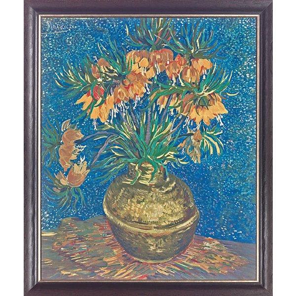 Vincent van Gogh: Bild 'Kaiserkronen', gerahmt