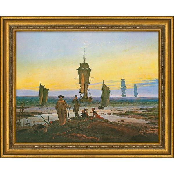 Caspar David Friedrich: Bild 'Die Lebensstufen' (1835), gerahmt