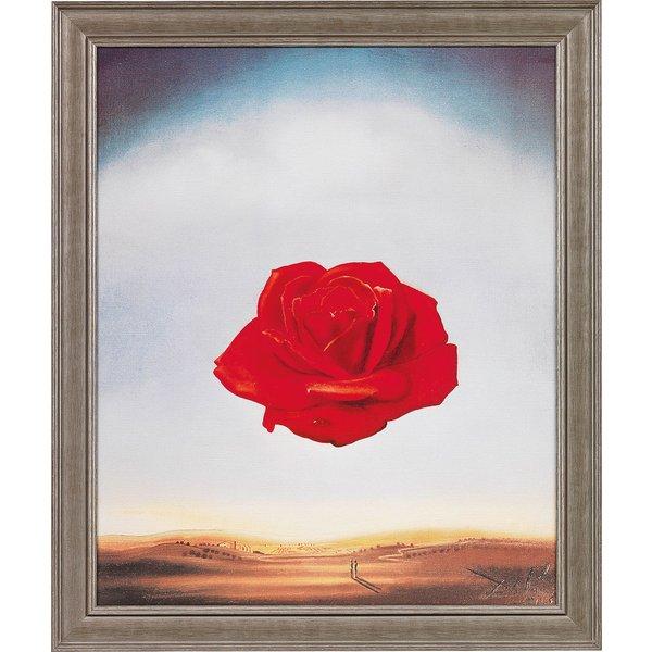 Salvador Dalí: Bild 'Die meditative Rose' (1958), gerahmt