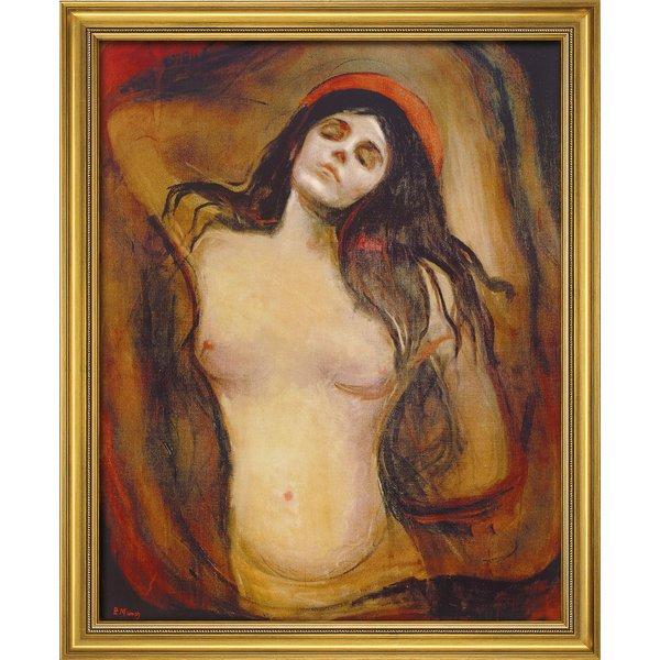 Edvard Munch: Bild 'Madonna' (1894), gerahmt