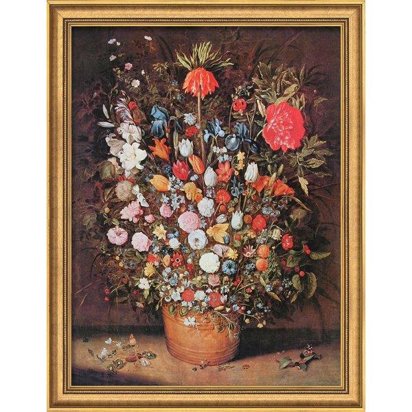 Jan Brueghel d. Ä.: Bild 'Blumenstrauß' (um 1607), gerahmt