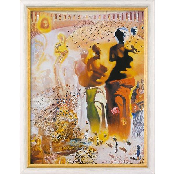 Salvador Dalí: Bild 'Der halluzinogene Torero' (1968-70), gerahmt