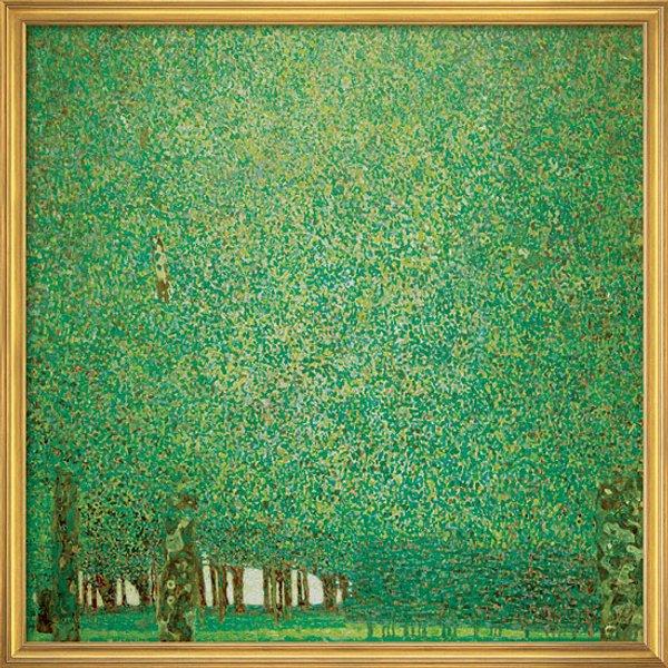 Gustav Klimt: Bild 'Park' (1909-10), gerahmt