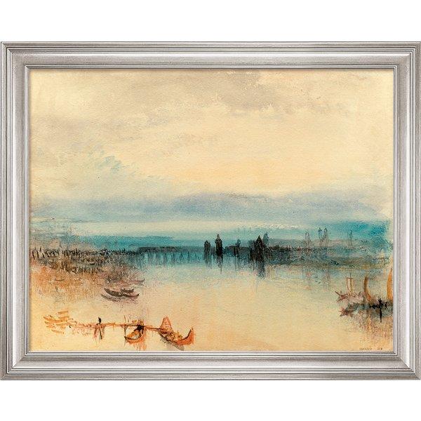 William Turner: Bild 'Konstanz' (1842), gerahmt