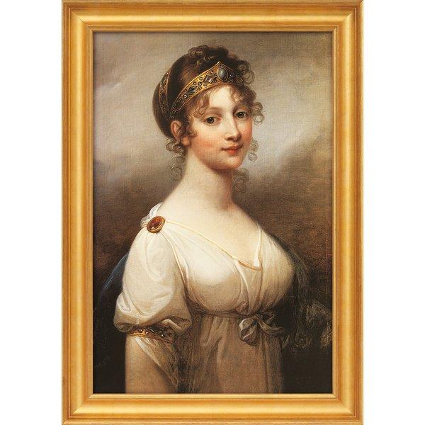 Joseph Grassi: Bild 'Luise, Königin von Preußen' (1802), gerahmt