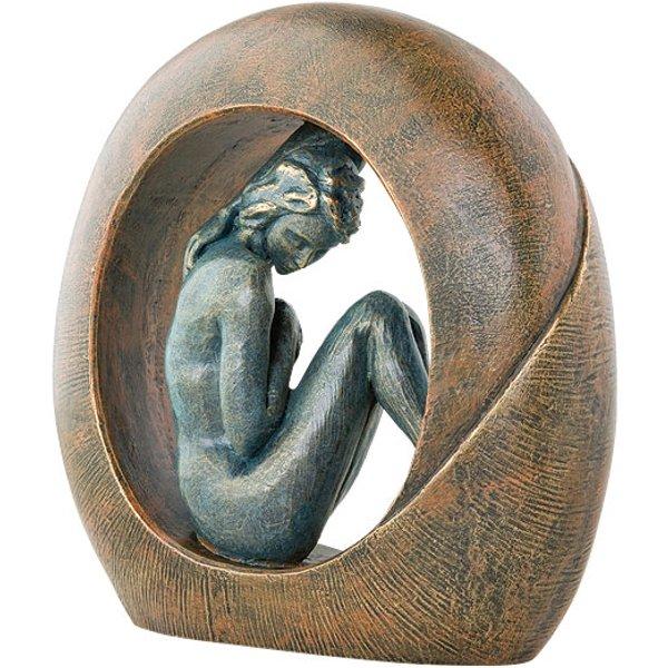 Angeles Anglada: Skulptur 'Venus', Kunstguss Steinoptik
