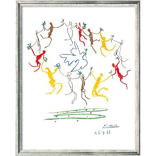 Pablo Picasso: Bild 'Der Reigen' (1961), gerahmt