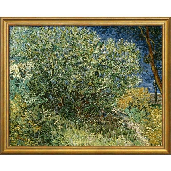 Vincent van Gogh: Bild 'Fliederbusch' (1889), gerahmt