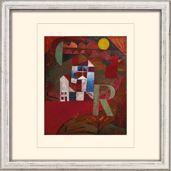 Paul Klee: Bild 'Villa R.' (1919), gerahmt