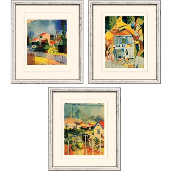 August Macke: 3 Bilder im Set