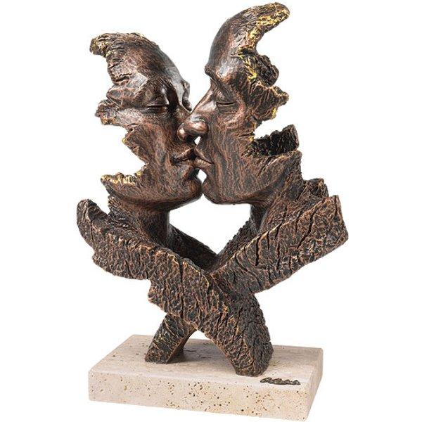 Angeles Anglada: Skulptur 'Desire', Kunstguss Steinoptik
