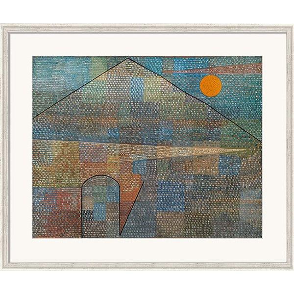 Paul Klee: Bild 'Ad Parnassum' (1932), gerahmt