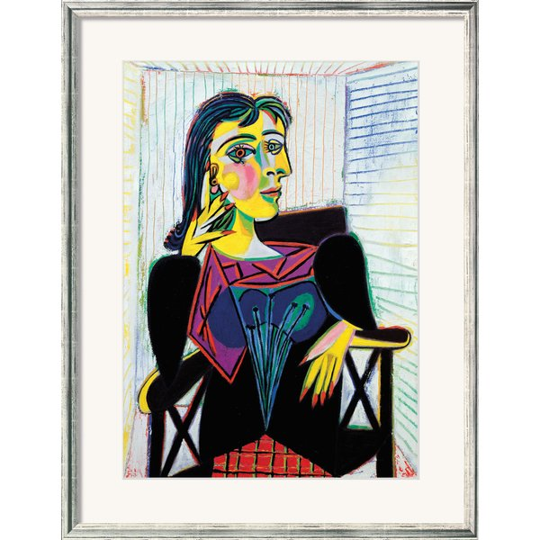 Pablo Picasso: Bild 'Dora Maar' (1937), gerahmt