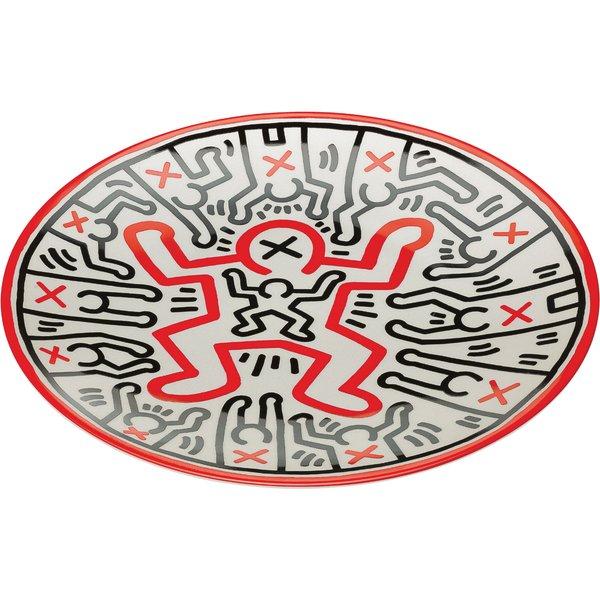 Keith Haring: Porzellanteller 'Untitled' (2014)