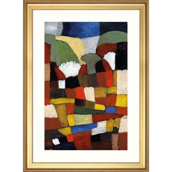 Paul Klee: Bild 'Garten in P. H.' (1925), gerahmt