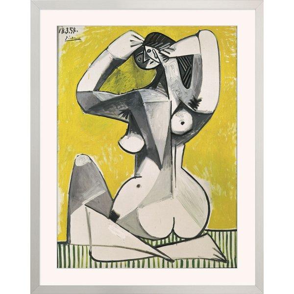Pablo Picasso: Bild 'Nu accroupi' (1954)