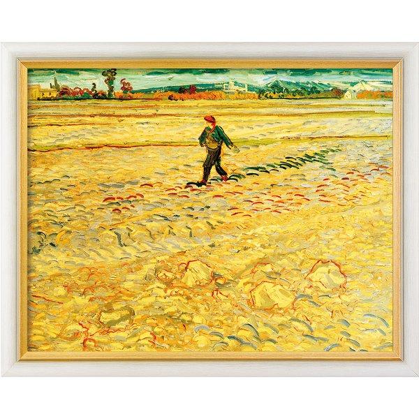 Vincent van Gogh: Bild 'Le Semeur (Der Sämann)' (1888), gerahmt